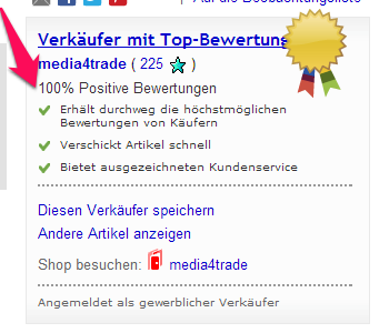 Bewertungstool ebay