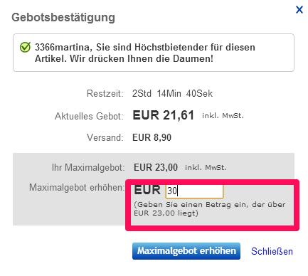 ebay Tipps für Schweizer