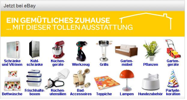 Ebay.ch gemütliches Zuhause