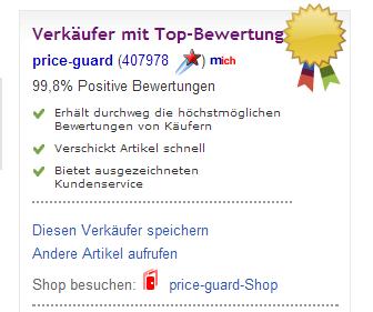 verkäuferinformation Huawei ebay.ch